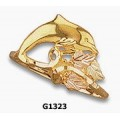 Women's Black Hills Gold Dolphin Ring G1323