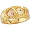 Men's Black Hills Gold Wedding Ring G46