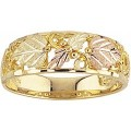 Men's Black Hills Gold Ring G87