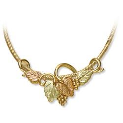 Black Hills Gold Leaves Pendant Necklace GL03753_SN