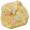 GLC214 Men's BH Gold Multiple Leaf Ring