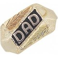 "Sterling Silver ""Dad"" Ring MR1370ANT"