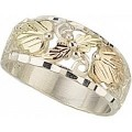 MR88 Women's BH Gold on Sterling Silver Ring
