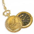WR7010 Men's Antiqued Pocket Watch