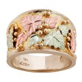 Men's BH Gold Grape and Leaf Ring - GLMR279