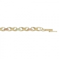 BH Gold Classic Leaves Bracelet 8095