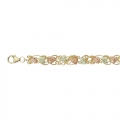 BH Gold Curly Vines Bracelet 8297
