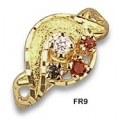 FR9-GN - Mother's Ring with Genuine Stones