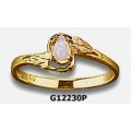 Women's Black Hills Gold Ring w/ Opal G1223OP