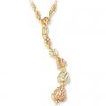 "Black Hills Gold ""Journey"" Pendant Necklace G20019"