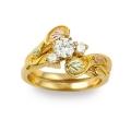 Women's Gold Engagement & Wedding Ring Set G4460EW