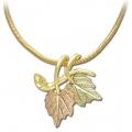 Black Hills Gold Leaves Pendant Necklace GL03610/SN