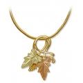 Black Hills Gold Leaves Pendant Necklace GL03611/SN