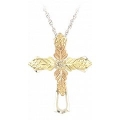Sterling Silver Cross Pendant MR2065