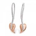 Black Hills Gold Polished Wired Leaf Earrings VG3622PL