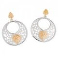 Sterling Silver Circle Earrings VM30123LD